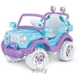 Disney Frozen 4x4 6V Ride On