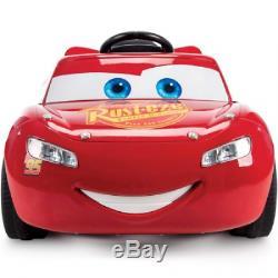 Disney Pixar Racing Cars 3 Lightning McQueen 6V Battery-Powered Ride On NEW