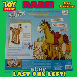 Disney Toy Story Bullseye 1st Edition White Signature Collection Woody's Roundup