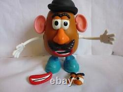 Disney Toy Story MR POTATO HEAD Collection Popping Talking Action Figure RARE