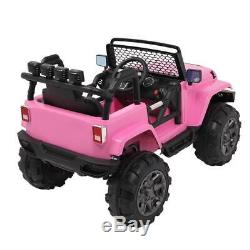 Electric 12V Kids Ride On Car Toys 4 Wheels, 3 Speeds, Remote Control