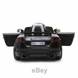 Electric Car Audi TT RS Kids Ride On 12V With Remote Control, MP3, LED Lights