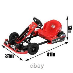 Electric Go Karting Car for Kids Adults Drift Go Kart With Flashing Lights