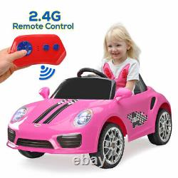 Electric Kids Ride on Car Toys with Headlights Remote Control Child Toddler Gift