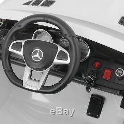 Electric Ride On Car 12V Kids Motorized Toys Driving Mercedes Benz Adjustable