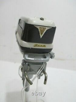 Evenrude Lark Outboard Motor Excellent Condition Battery Op-tested Works Good