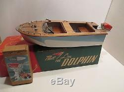 FLEETLINE DOLPHIN VAGABOND WITH SCOTT ATWATER OUTBOARD MOTOR IN BOX EXCELLENT