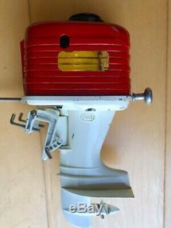 FUJI Toy Boat Outboard Motor Very Large & Rare K & O Vintage ITO