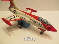 F-104 Smoking Jet Fighter Excellent Condition With Box Tested Works Good