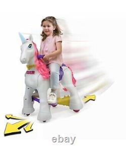 Famosa 800012546 Feber My Lovely Ride On Unicorn White 12 Volt