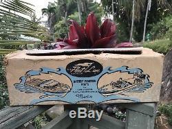 Fleet Line K & O Model Scale Marlin Boat + RARE Oliver Olympus 35HP Toy Motor