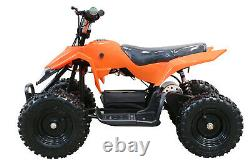 Free Shipping 500W 24V Electric Battery Kids Boys Ride On Quads Red ATV