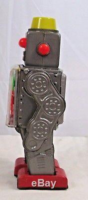 GEAR ROBOT TIN BATTERY OPERATED TOY S. H. HORIKAWA JAPAN 1950s