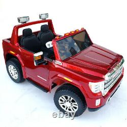 GMC Denali 2 Seat 4 Wheel Truck Kids Ride Battery Powered Electric Car withRemote