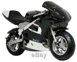 Gas Pocket Bike 33cc 2-Stroke in Black ID 3884352