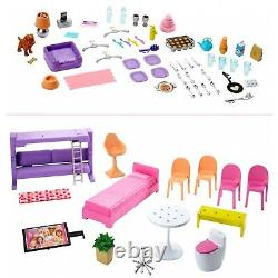 Girls Dollhouse Barbie Dreamhouse Playset With Accessories Toy Furniture New