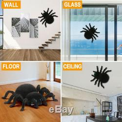 Gravity Defying RC Car Wall Climbing Remote Control Spider Scary Prank Toys Gift
