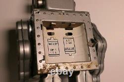 Horikawa Large Battery Operated Tin Gear Robot- Not Working