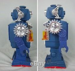 Horikawa Plastic Battery Operated Robot Smoking Engine Robot (With Box)