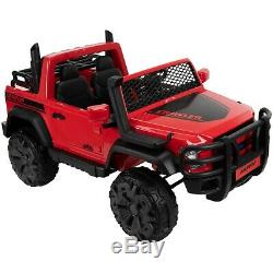 Huffy 24V Crawler Truck Battery Powered Ride On Toy Two Seater Red