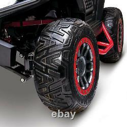 Huffy Torex UTV Electric 4-Wheeler 4x4 Side-By-Side Ultimate Trail Machine Toy