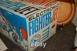 Ideal Electronic Fighter Jet Battery Operated Flight Simulator 1959