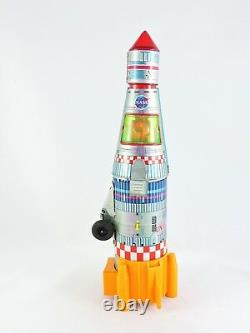 Interplanetary Rocket Battery Operated MEGO Y Yonezawa Japan with Box space ship