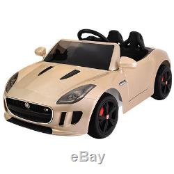 Jaguar F-TYPE 12V Licensed Battery Power Kids Ride On Car MP3 RC Remote Control