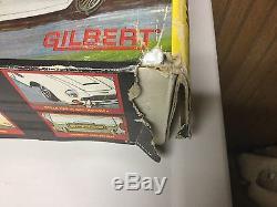 James Bond 007 Gilbert Aston-Martin car works with box and tag. LOOK
