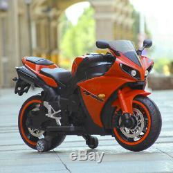 Japanese Style Kids Ride On Motorcycle 12V Battery Powered Stylish Electric Bike