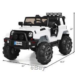 Jeep Coche Electrico Para Niños De 3 A 7 Años Montar Y Manejar A Control Remoto