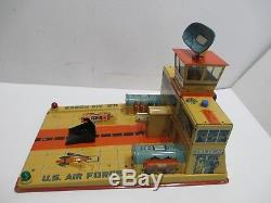 Jet Plane Base With Super Saber Jet Mint In Box Condition Tested Works Great