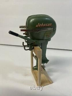 Johnson 25hp Sea Horse Toy Outboard Motor Japan Battery Powered Toy 1950s