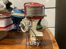 K&O 1956 Mercury Thunderbolt Four Mark 55 Toy Outboard Motor