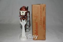 K&O Outboard Boat Motor, 1956 Johnson 30HP with Original Box