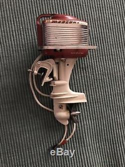 K&O Toy Outboard Boat Motor, 1955 Mercury Mark 55, 40 HP, Original