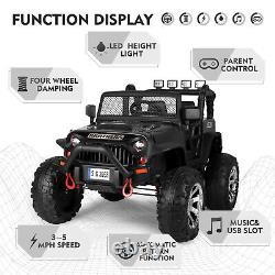 Kids 12V Ride On Car Truck Remote Control Electric Power Wheels Christmas Gift