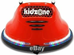 Kids ASTM-Certified Electric 6V Ride Bumper Car With Remote Control 360 SpinRed