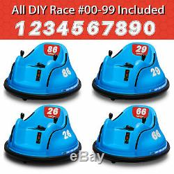 Kids ASTM-certified Electric 6V Ride On Bumper Car With Remote Control 360 Spin