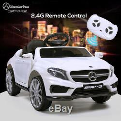 Kids Electric Ride On Car Mercedes-Benz Licensed Remote Battery Operated Toy