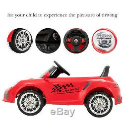 Kids Electric Ride on Cars 6V Battery Power Motorized Vehicles Remote Control