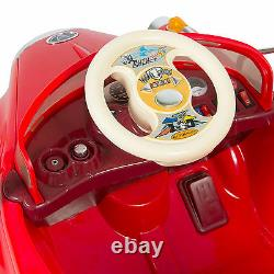 Kids Electric Ride on Red Car RC Classic Car With Remote Control Battery Power