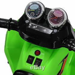 Kids Ride On ATV Quad 4 Wheeler Electric Toy Car 12V Battery Power, Green