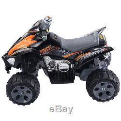 Kids Ride On ATV Quad 4 Wheeler Electric Toy Car 12V Battery Power Led Lights