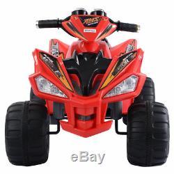 Kids Ride On ATV Quad 4 Wheeler Electric Toy Car 12V Battery Power Led Lights ++