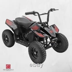 Kids Ride On ATV Quad 4 Wheeler Scooters Off Road Vehicle Toy Steel Frame Gift