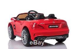 Kids Ride On Car 12 Volt RC Electric Power Wheels w Radio & Remote Mercedes SL65