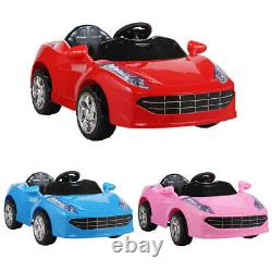 Kids Ride On Car Electric 6V Battery Power Gift Toy With Remote Control, MP3, LED