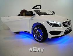 Kids Ride On Car Mercedes CLA 45 AMG 12v Battery Operated With Remote Control