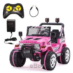 Kids Ride On Cars Power Wheels Electric Battery Remote Control MP3 USB Player